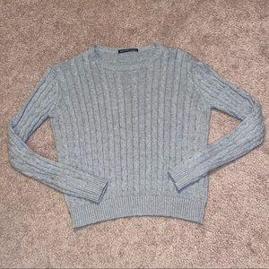 gray brandy melville sweater